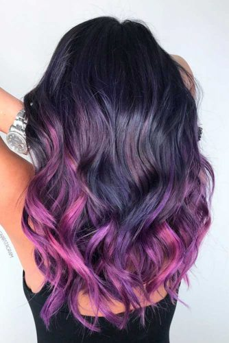 Beatiful Purple Ombre picture2