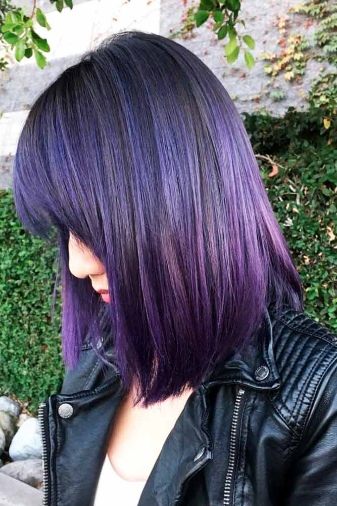 Popular Violet Hair Color picture3
