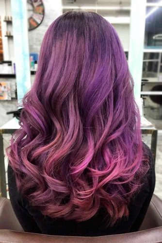 Shining Purple Hair picture2