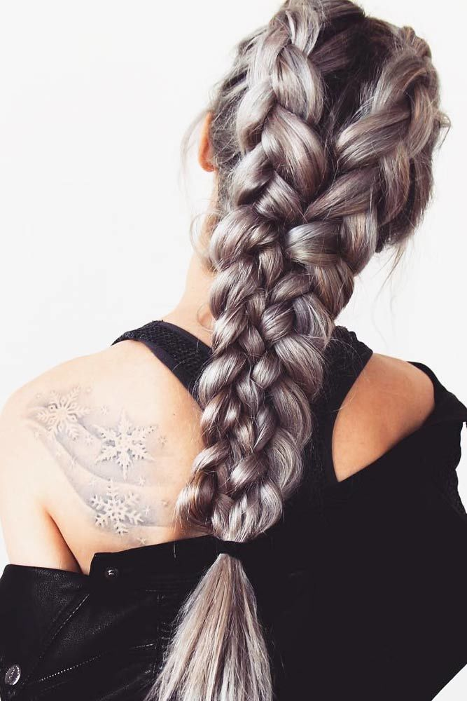 Incredible Cool Braided Hairstyles Double #longhairstyles