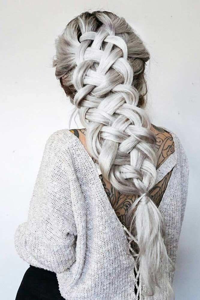 Incredible Cool Braided Hairstyles Blonde #longhairstyles