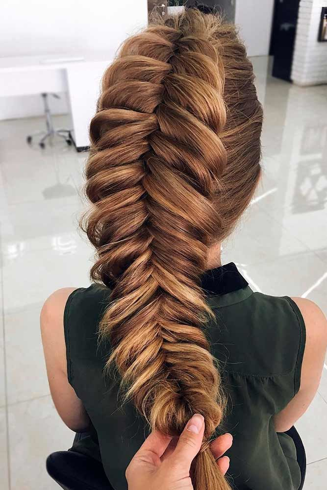 Faux Hawk Thick Braid