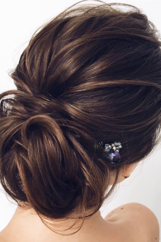 Elegant Updo Long Hairstyles