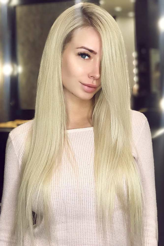 How To Style - Sexy Straight Long Hairstyles