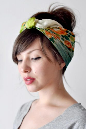 Scarf Updo