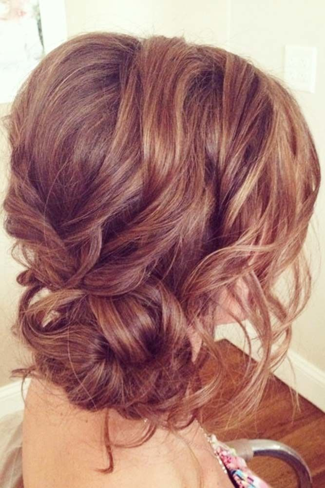 Special Updo Hairstyles For Long Hair Bun #longhairstyles