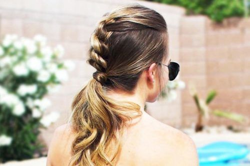 Fresh Ways to Amp Up Your Ponytail Braid