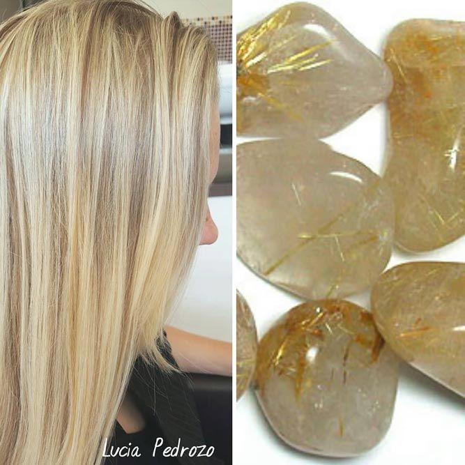 Crystal Quartz #geodehaircolor #haircolor #crystalhair