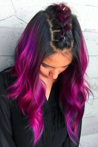 Amazing Plum Hair picture1