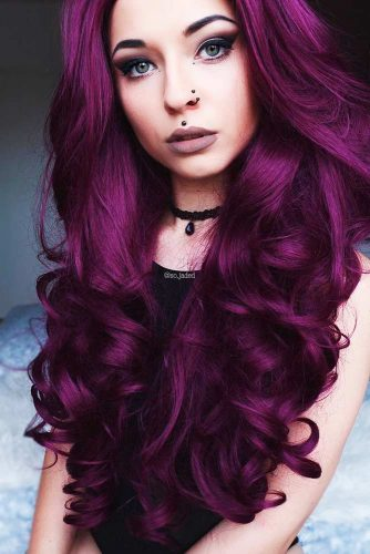 Amazing Plum Hair picture2