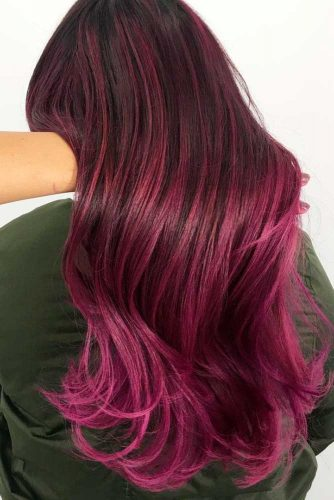 Inspirational Red Violet Hair picture1