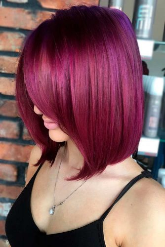 Red Violet Bob Haircut picture2