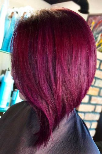 Red Violet Bob Haircut picture1