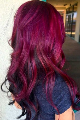 Red Violet Ideas for Your Hair picture2