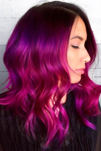 Inspirational Red Violet Hair picture2