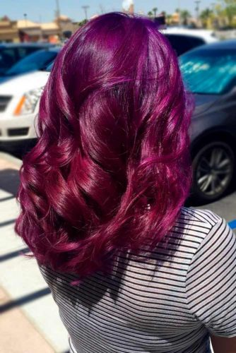 Inspirational Red Violet Hair picture3