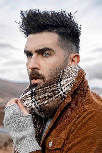 Long Black Texture #menhairstyles #menhaircuts