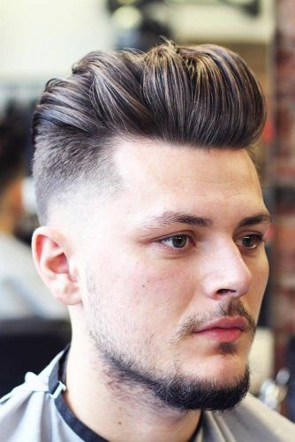 Sleek & Textured Medium Hairdo #menhairstyles #hairstyles