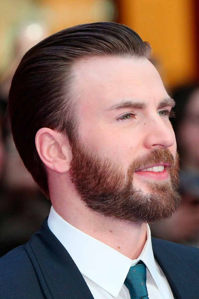 Long Hairstyle For Beardos #menshairstyles #chrisevans