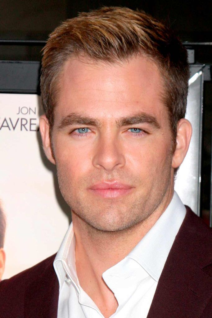 Loose & Defined Quiff #menshairstyles #chrispine