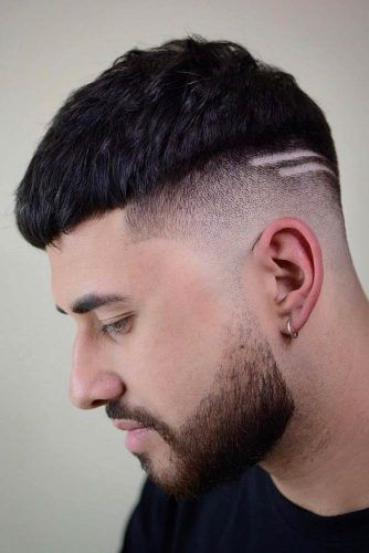 Face Framing Short Crop #menhairstyles #hairstyles