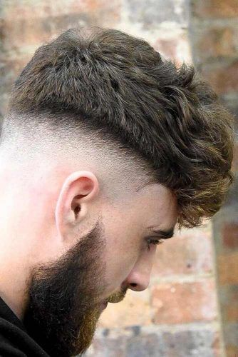 Textured Faded & Curly  #menhairstyles #hairstyles