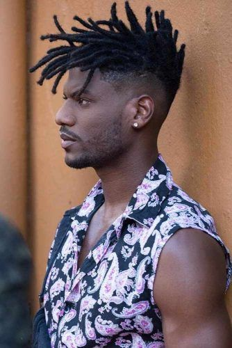 Spiky Dreads #menhairstyles #hairstyles