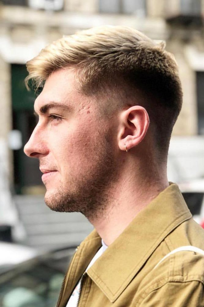 Original Ivy League Style Mid Fade #menhairstyles #hairstyles