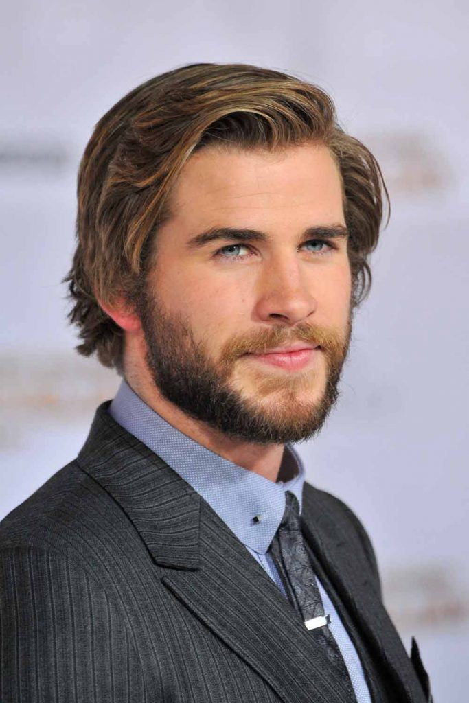 Textured Hairstyle For Long hair #menshairstyles #liamhemsworth