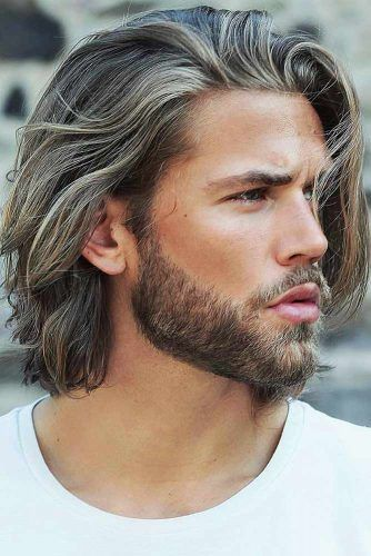 Textured Hairstyle For Long hair #menhairstyles #hairstyles