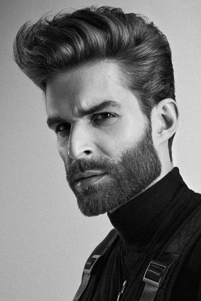 Medium Length Modern Classic Men's Haircut #menshairstyles #menshair
