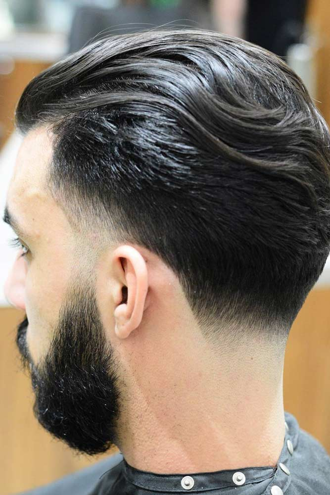 Medium Length Haircut Accentuating Taper #menhairstyles #hairstyles