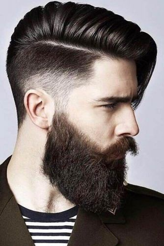 Long Comb Over Soft Taper #menhairstyles #hairstyles