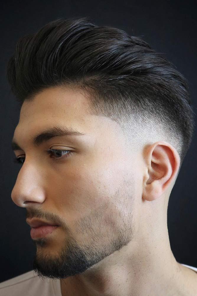 Pompadour Faded Mohawk #menhairstyles #hairstyles