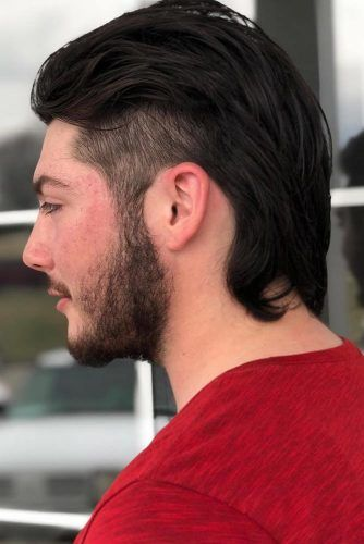 Mullet With Tapered Sides #menhairstyles #hairstyles