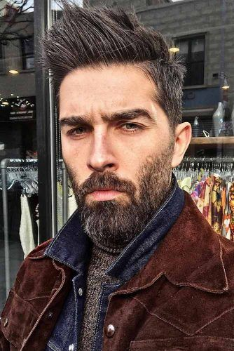 Mustache And Beard As A Part Of The Image #menhairstyles #menhaircuts
