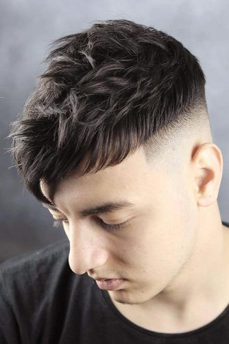 Short Cut Long Fringe #menhairstyles #hairstyles