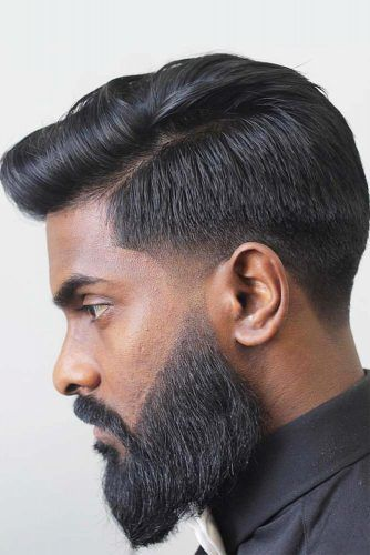 Neat Hairstyle To Tame Thick Hair  #menhairstyles #hairstyles