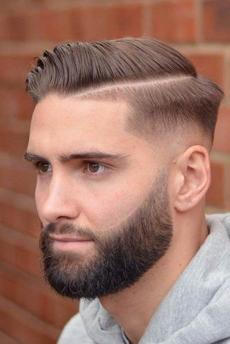 Slick & Side-Parted #menhairstyles #hairstyles