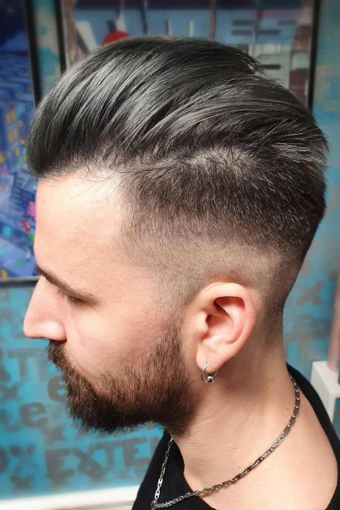 Slicked Back Modern Undercut Hairstyle #menshairstyles #menshair