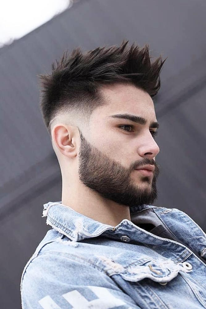 Classy Quiff With Spikes #menhairstyles #hairstyles