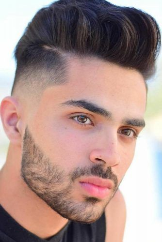 Close Taper Fade Haircut For Mid Length #menhairstyles #hairstyles