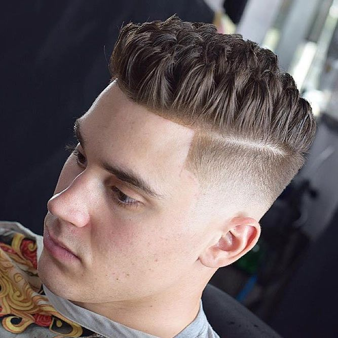Textured Brushed Up Hairstyle #menhairstyles #hairstyles