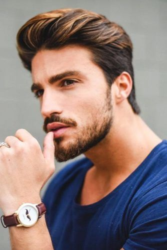 Medium Cut With Defined Texture #menhairstyles #hairstyles