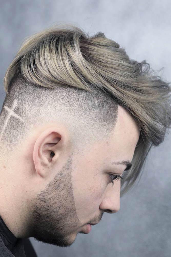 Undercut Longer Bangs #menhairstyles #hairstyles