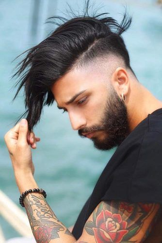 Side Swept Undercuts #menhairstyles #menhaircuts