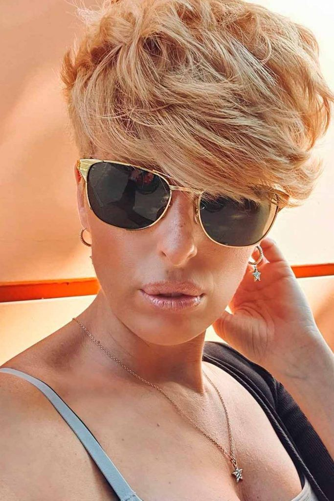 Blonde Pixie Hair To Try