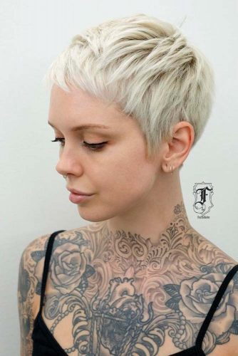 White Blonde Pixie Haircuts picture3