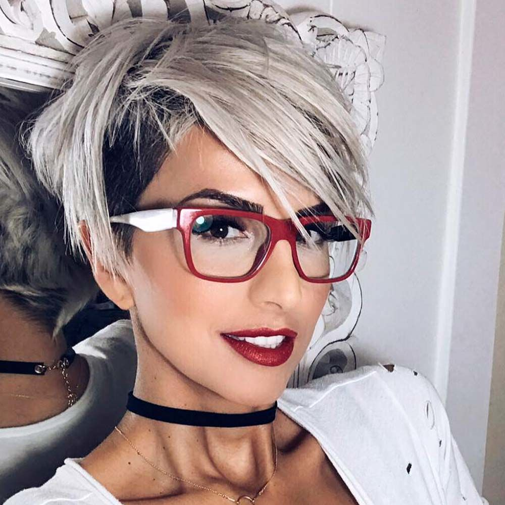 Long Blonde Pixie Hair To Try