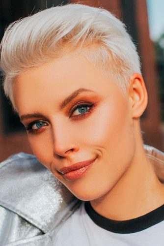 White Blonde Pixie Haircuts picture2